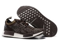 2016 New Fashion NMD Runner Sports Shoes Classic Black White...