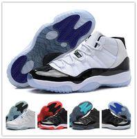 Wholesale 2016 Retro XI 11 Legend Blue Basketball Shoes Gamm...