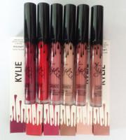 liberté Kylie Lip Gloss rouge à lèvres liquide Kylie Lip Kit jenner Matte 22 kylie couleurs morts de chevalier maquillage cosmétiques DHL gratuit