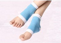 Recovery Sock Moisturizing Silicone GEL Heel Socks for Dry H...