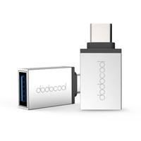 dodocool USB di tipo C a USB 3.0 Adapter Convertire USB di tipo C a USB 3.0 Tipo connettore C dispositivi supportati argento DA73