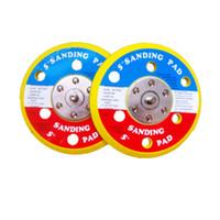 Pneumatic Air Sanders Vacuum Pad 5- inch Air Sanding Discs fo...