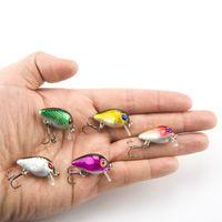 Самая низкая цена Продажа 1,5г 3 см Topwater Wobbler Японии Мини рыболовную приманку Fly Рыбалка Crankbait Cranks Lure Приманки 5шт / много