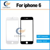 Nouvelle haute qualité de remplacement LCD écran tactile avant lentille extérieure pour iphone 6 4.7