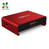 T95U PRO Android TV 6.0 Amlogic S912 octa core ARM Cortex-A53 2Go / 16Go WiFi 2.4G / 5.8G Kodi 17.0 Entièrement charger H.265 4K Player