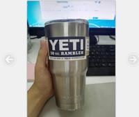 Yeti 30 oz Cups Cooler YETI Rambler Tumbler Travel Vehicle B...