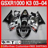 8gifts Bodywork For SUZUKI GSXR1000 03 04 K3 GSXR 1000 GSX- R...
