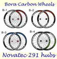 2016 Full Carbon Bike Wheels 3K Weave Bora Ultra 50mm 700C 2...