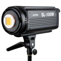 Godox SL-100W 6500LUX Studio LED Bowens continua Luce video Monte di trasporto D2034