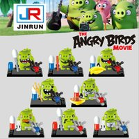Angry Birds pig minifigures Building Blocks New children 8 s...