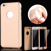 Hot! For iPhone 6s SE iPhone 6 plus 5 Full Body Acrylic + Lu...