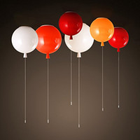 Colorful balloon lamp ceiling lamp 250mm modern minimalist c...