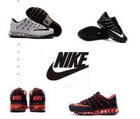 2016 Nike Flyknit Air Max airmax shoes Men' s Women&#039...