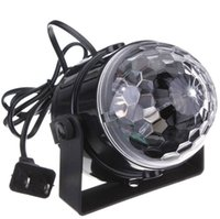 Mini RGB LED Crystal Magic Ball Stage Effect Lighting Lamp P...