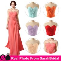 2016 Cheap Long Chiffon Bridesmaid Dresses Under 100 Mint Co...