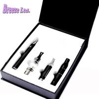 Magie 3 en 1 Wax Vaporisateur Pen Kit Dry Herb cigarettes électroniques avec atomiseur atomiseur MT3 verre Evod batterie vente en gros Livraison gratuite DHL