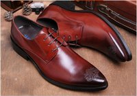 NEw arrivals Men Printed Genuine leather men' s Business...