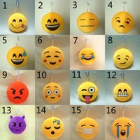 21 Design Christmas gift 15cm QQ Emoji Smiley Small Plush Do...