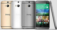 Разблокирована сотовых телефонов HTC One M8 4G Qualcomm Quad Core Android OS 2 Гб оперативной памяти 16 Гб / 32 Гб ROM Смарт мобильный телефон