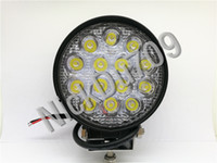 42w Round Led Work Driving Spot Lights Floodlight Car Led He...