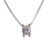1 PCS Fashion Rhinestone Pendant Chain Necklace #92505 free ...