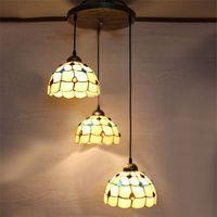Fissidens Shape Tiffany European Vintage Pendant Lights Livi...