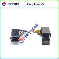 Retour 8MP caméra arrière avec Flash avec Flex câble de remplacement d'origine pour iPhone 4s Frast Livraison