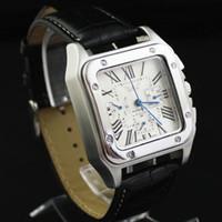Jaragar Men Wrist Watches top brand Leather Watch Stainless ...
