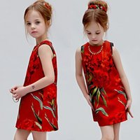 Baby Girls Dress 2016 New Brand Girls Dress Sleeveless Carna...