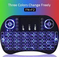 Wireless Backlight Keyboard Rii Mini i8 2. 4G Air Mouse Media...