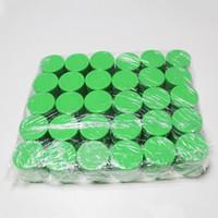 Recipiente de aceite de vaporizador de cera Tarros de silicona Dab completo Tamaño de color Forma redonda Aceite de hierbas secas caja de contenedores Slick