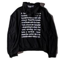 2016 brand Vetements hoodies men oversize hip hop justin bie...