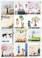 Mix Order Large Wall Decor Stickers DIY Cartoon Tree Wall St...