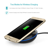Cellulare caricabatterie dodocool 10W Quick Charge Wireless Charging Pad con 5ft / 1.5m micro cavo USB per tutti i dispositivi Qi-enabled DA91