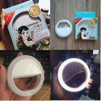 SELFIE FLASH RING LED FILL LIGHT Portable Camera Photography...