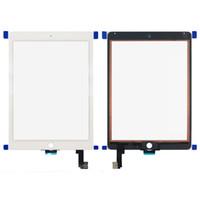 Pour iPad Air 2 Écran tactile Numériseur Assemblage avec bouton d'accueil et adhésif Remplacement DHL Livraison gratuite