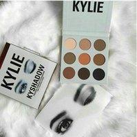 Les plus récents Kylie Eyeshadow cosmétiques Jenner Kyshadow pressé ombre à paupières Kit ombre à paupières Palette Bronze Précommande maquillage 9 couleurs