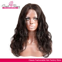 New style 100% virgin human hair full lace wigs for black wo...