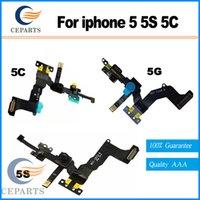 Remplacement neuf de haute qualité avant Caméra Cam Facetime Capteur de proximité Ruban Flex Câble pour iPhone 5 5C 5S