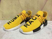 yellow color nmd runner human race Pharrell Williams nmd Ath...