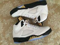 2016 New Olympic Mens Retro 5 V Basketball Shoes Low Women B...