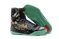 Mix Color fashion men shoes Kobe 9 high cut boots men outdoo...