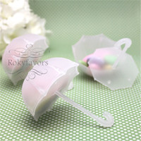 FREE SHIPPING+ 50pcs lot Umbrella Favor Boxes Wedding Favors ...