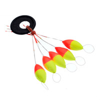 Outdoor Fishing Tackle Plastic Olives Shape Seven- Star Float...