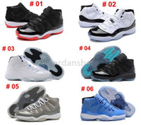 Wholesale 2016 Mens Womens Retro 11 New Basketball Sports Br...