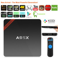 Cheapest Android TV Box A95X Android 6. 0 Amlogic S905X Quad ...