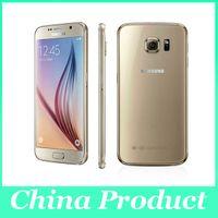 Remis à neuf Samsung Galaxy S6 SM-G920 Original Unlocked 3G4G 16MP Camera Octa Core 5.1 '' 32Go ROM 3 Go de RAM Téléphone mobile GPS WIFI