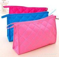 7 couleurs de mode Femmes fermeture à glissière Sacs cosmétiques Sacs de maquillage sacs Mini sacs de voyage sac à main pour les femmes Cadeau de Saint-Valentin de Noël