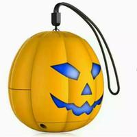 Halloween de la calabaza de altavoces Bluetooth estéreo portátil de altavoces con sonido ultra claro del envío libre para viajar al aire libre de
