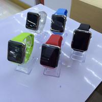 A1 Smart Watch Bluetooth Wearable imperméable à l'eau Montres intelligentes pour iPhone Android Smartphone Smartwatch Caméra Livraison gratuite GT08